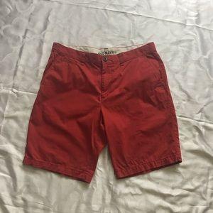 Men's cotton shorts waist size 34.